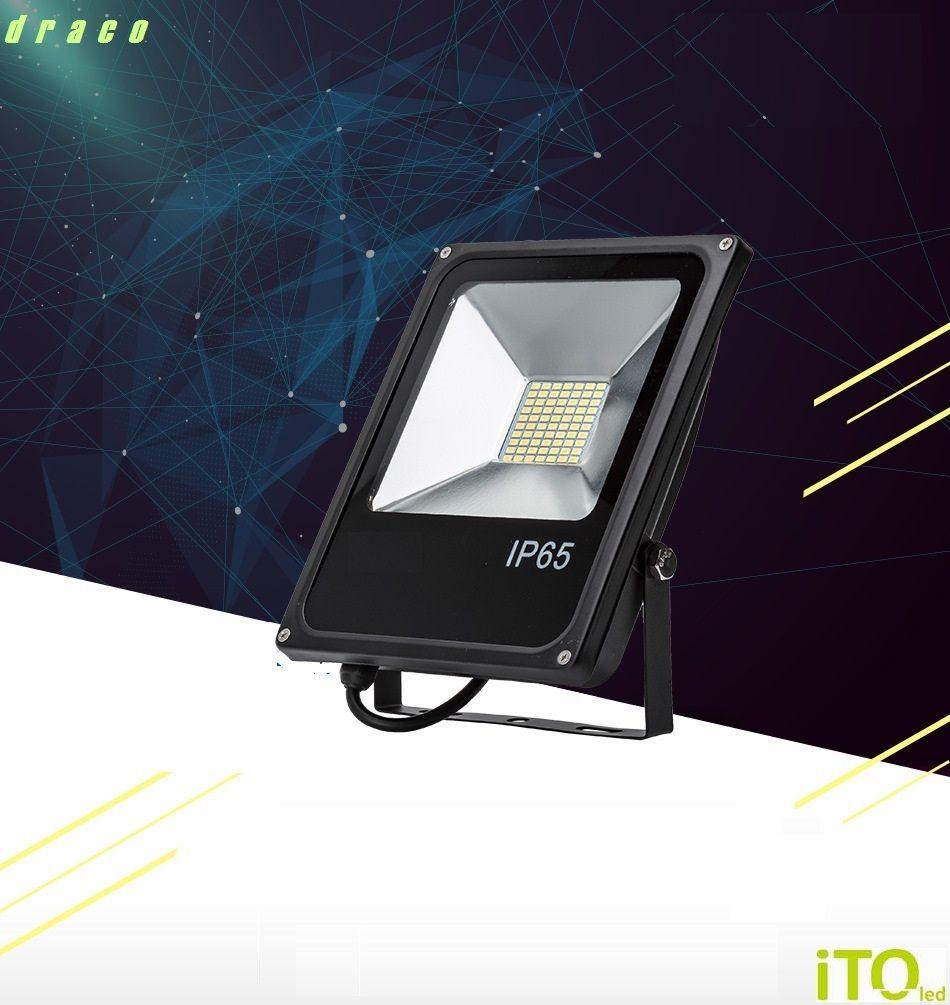 LED 050W reflektor iTOled DRACO  SMD
