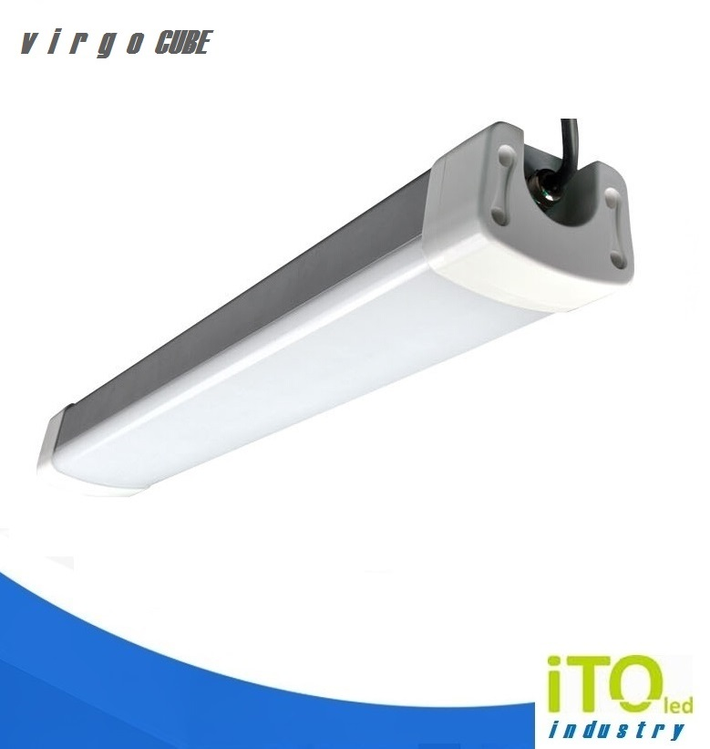 LED prachotěs IP65 iTOled VIRGOcube 120 40W