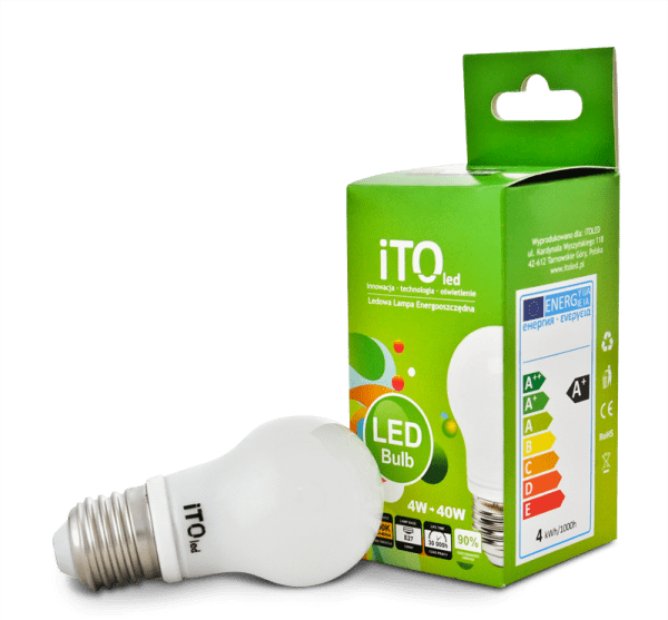 LED žárovka iTOled A45-01 4W